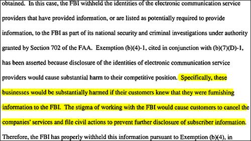 FBI Excerpt