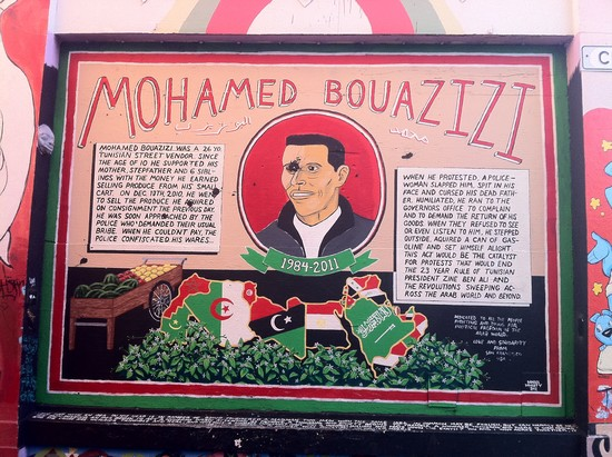 Bouazizi Grafitti from SF
