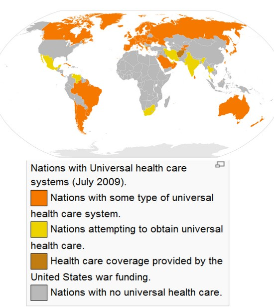 World Health Care Comparison