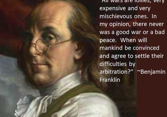 """""""All Wars are Follies"""" (Benjamin Franklin Poster)"""