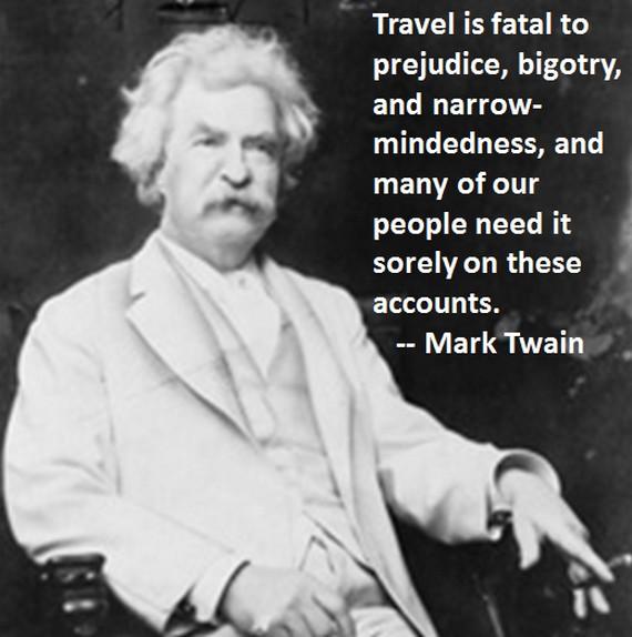 Mark Twain on Travel