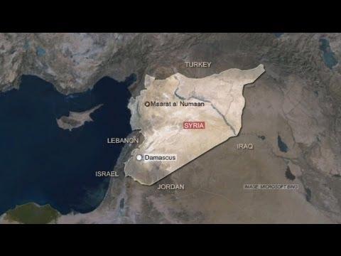 Air Massacre in Maaret al-Numan, Syria as Fighting Intensifies