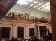 Texas Near-Ban on Abortion foiled by People's 'Gallery Filibuster'