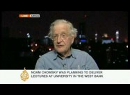 Apartheid Israel, Bunker Israel:  Elvis Costello and Noam Chomsky