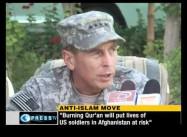 'Burn the Qur'an Day' Endangers US Troops: Petraeus