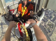 Climbing the Burj Khalifa in Dubai – World's Tallest Building (Video)