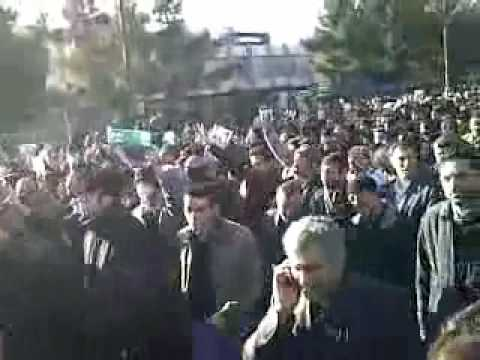 Funeral of Iranian cleric Montazeri turns into political protest |