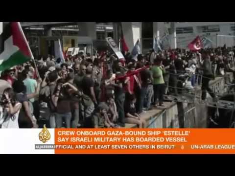 Gaza Aid Ship Estelle Commandeered by Israeli Navy; Israel kidnaps European Members of Parliament