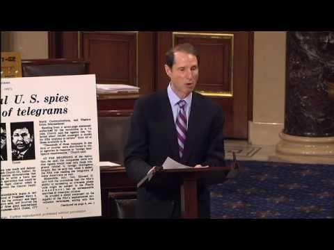 Sen. Wyden Warned us in 2011 that the Government was Running wild on Surveillance (Video)