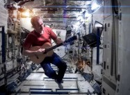 """Space Oddity:"" Hadfield Signs off From the International Space Station"