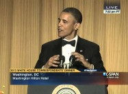 Obama Jokes with White House Correspondents (Video)