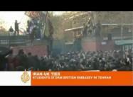 Iranian Students attack British Embassy