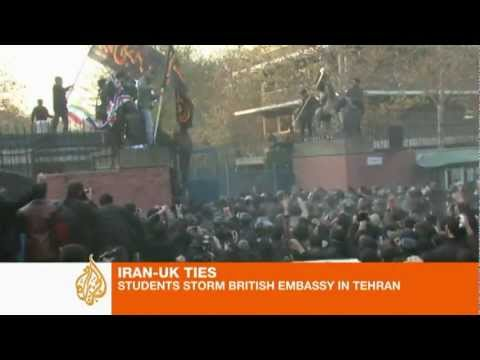 Iranian Students attack British Embassy