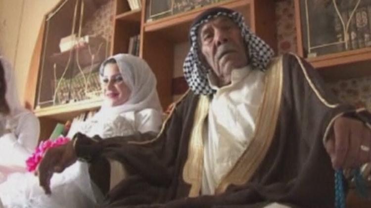 Iraq 92-Year-Old Iraqi Man Marries 22-Year-Old Woman-1619