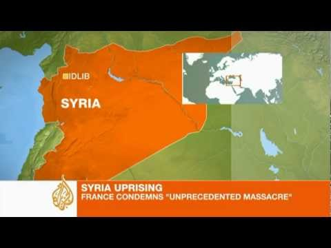 Massacre alleged in Syria
