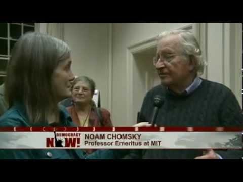 Noam Chomsky on Gaza (Democracy Now!)