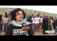 Palestinians Protest illegal Israeli Theft of Water Rights