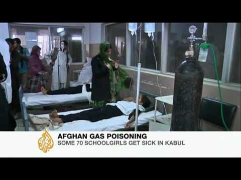 Poison Gas Sickens School Girls in Kabul