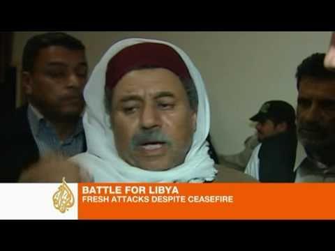 Qaddafi Bombards Rebel Cities, Defies UNO