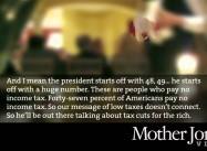 Tax Deadbeat Romney Calls Working People Leeches