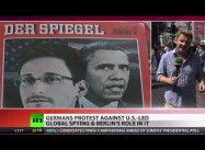Thousands of Germans Protest Obama/ Merkel STASI-like Spying on Them