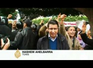 Thousands Protest Interim Government in Tunis