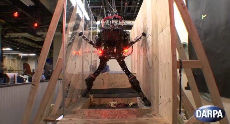 You, Robot:  Darpa's Robot learns to Avoid Obstacles