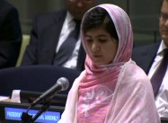 Malala Yousafzai Pleads at UN for Universal Free Schooling for Girls and Boys