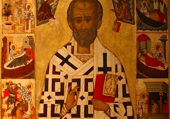 """Photo of the Day: Was St. Nicholas """"White""""?"""