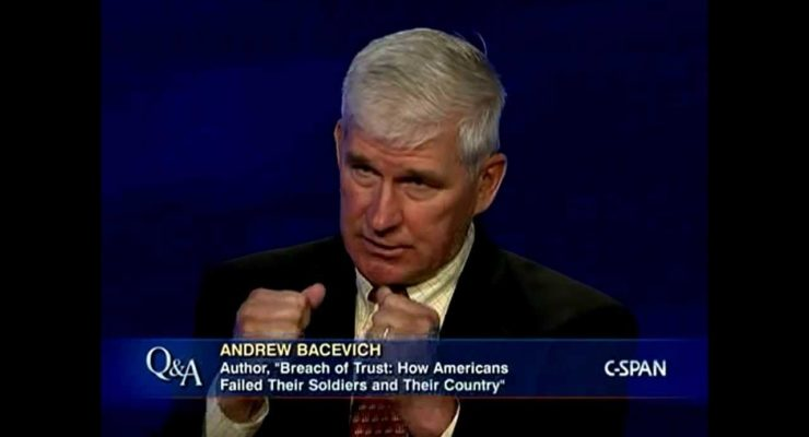FDL Book Salon on Andrew Bacevich, Breach of Trust: How Americans Failed Their Soldiers and Their Country