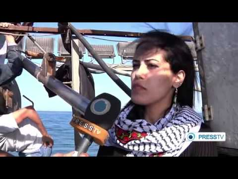 Israeli Blockade of 40,000 Gaza Fishermen Briefly Broken by Youth Protesters