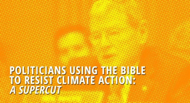 GOP:  No Climate Change because, Bible