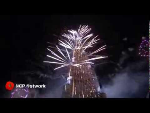 Cambridge new years fireworks in dubai
