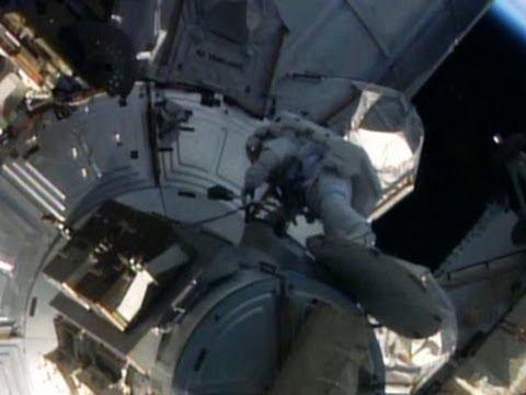 "Real-Life ""Gravity:""  Space Repair Walk and NASA's Breakthroughs 2013"