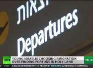 Young Israelis Emigrating Abroad Roils Politics in Tel Aviv