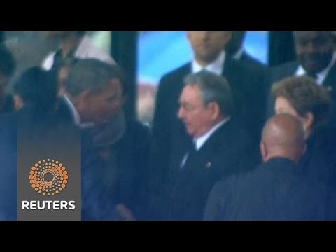 Presidents shaking Hands with Dictators