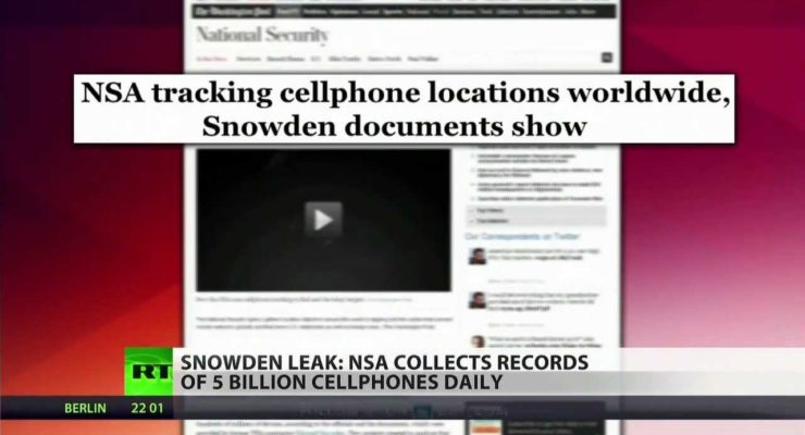 Trashing the Law against warrantless GPS tracking: NSA nabs 5 Billion Phone location Records a Day
