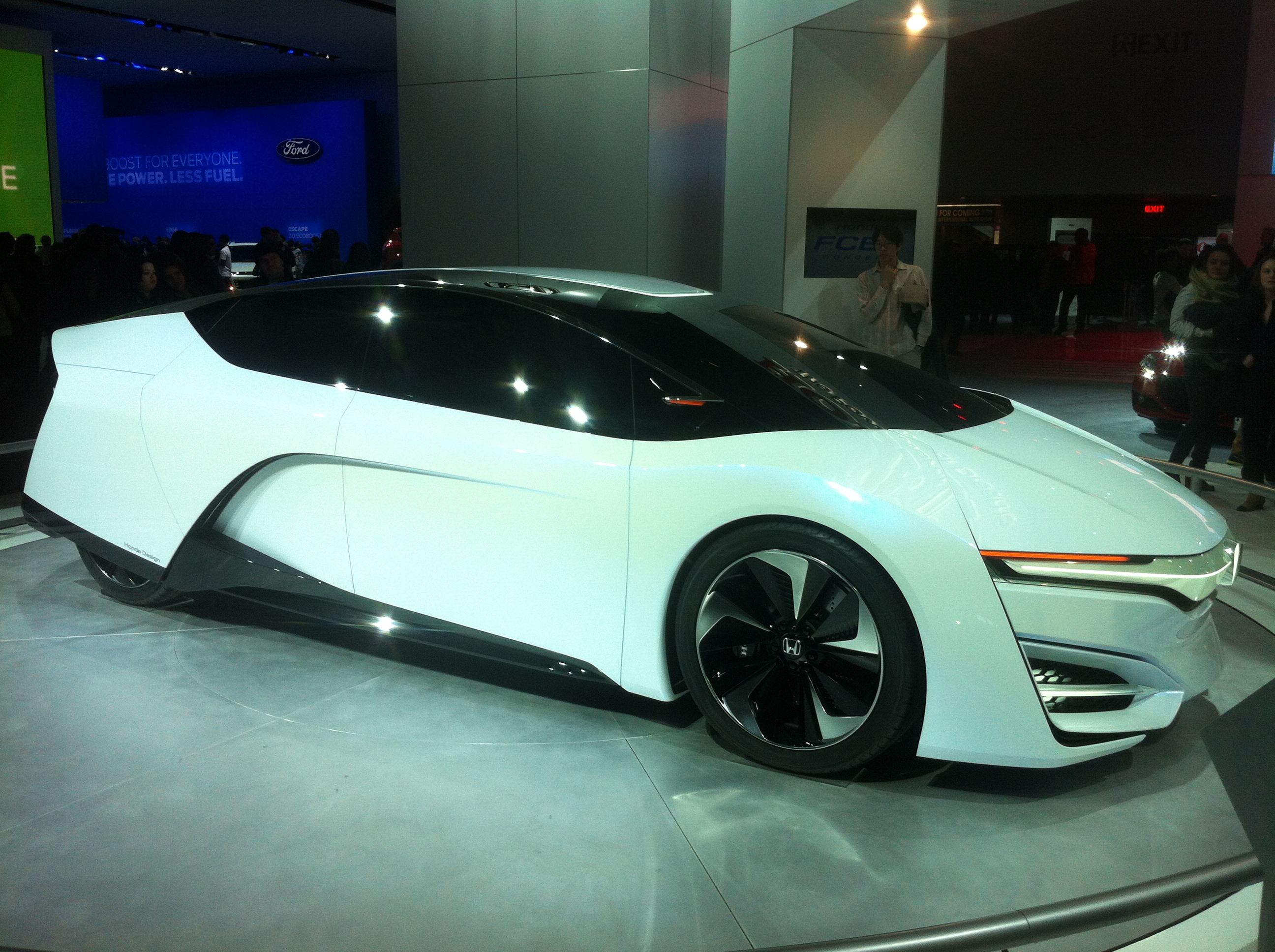The Future Of Cool Electric Muscle Cars At The Detroit Auto Show - Cool cars 2014