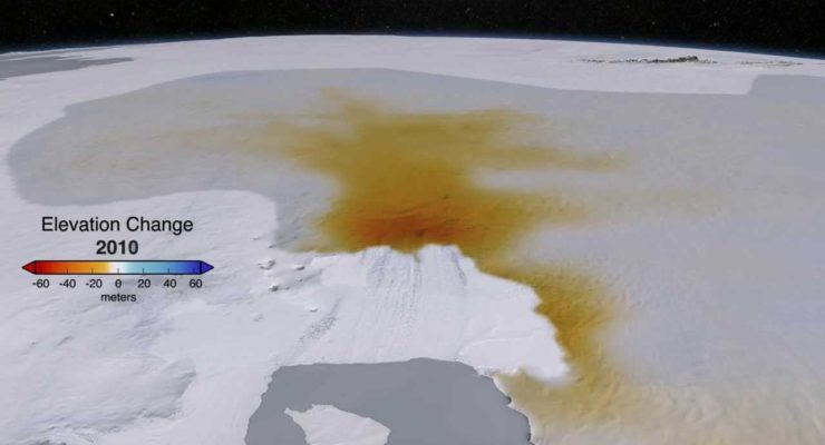 Fossil Fuels causing Antarctic Glacier to Melt Irreversibly, raise Sea Levels