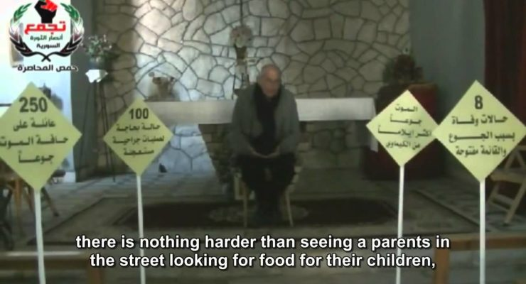 Syria: Trapped Women of besieged Homs decline evacuation, fearing for their Men