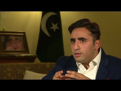 Bhutto Zardari:  Taliban must be eradicated from Pakistan