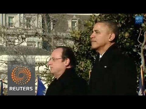 Obama & Hollande stress Hope for Iran Breakthrough