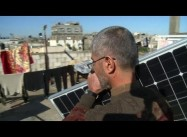 Gaza's Palestinians, Besieged by Israel, turn to Solar Power