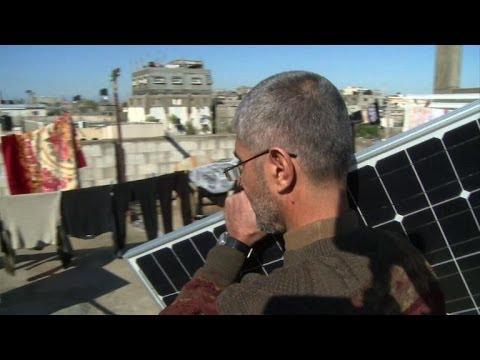 Gaza's Palestinians, Besieged by Israel, turn to Solar Power