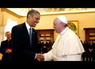 Is Pope Francis good for the Democrats?  Obama in the Vatican