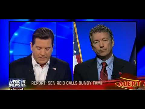 """Fox News asks Rand Paul if Reid is right to """"call Americans"""" """"Domestic Terrorists"""""""