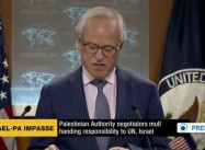 "Palestinians consider handing 'keys' back to Israel, ending Charade of ""Peace Process"""