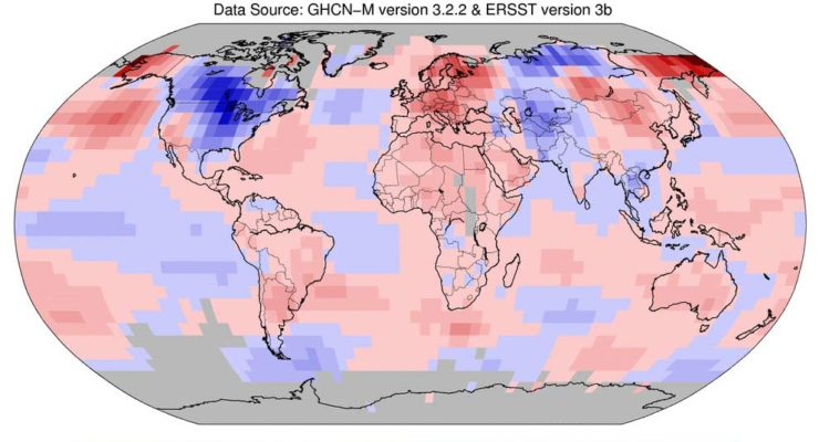 If you are younger than 29, you've never experienced a cooler than average Month: March Was 4th Warmest on Record Globally
