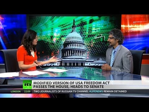 House Passes Fake USA Freedom Act; Only hope is Senate