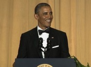Obama Quips at White House Correspondent Dinner:  'Orange is the New Black'